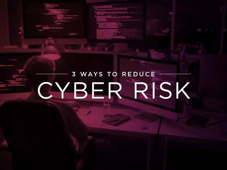 Verizon DBIR and 3 Ways to Reduce Cyber Risk