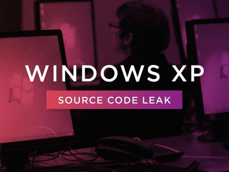 Windows XP Source Code Leak Could Lead to Disaster