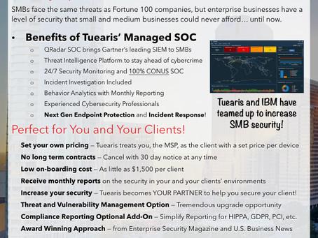 Tuearis' QRadar SOC... now for MSPs!