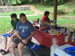 Rick, Mike and Sally Brown