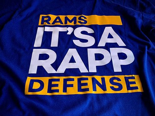 RAMS T-SHIRT -TAYLOR RAPP