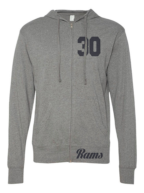 Los Angeles Football Hooded Full Zip