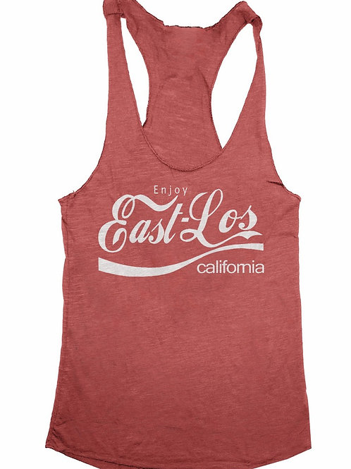 East L.A. Tank Top - HEATHER RED