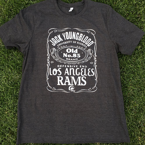 JACK YOUNGBLOOD - DEEP HEATHER GREY T-SHIRT