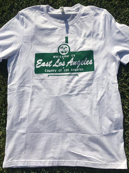 East Los Angeles T-Shirt - EAST L.A. SIGN