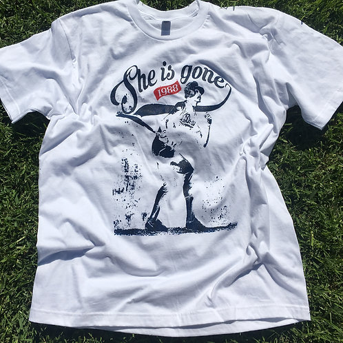 Los Angeles Baseball T-shirt - She Is Gone 1988
