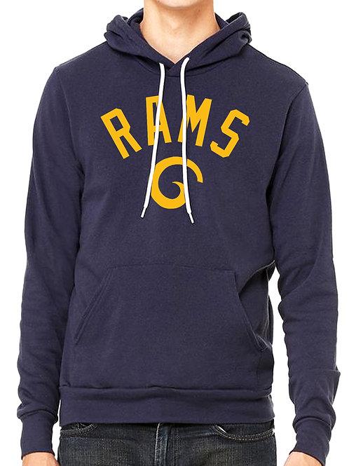 Los Angeles Football Hooded Pullover