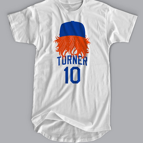 Los Angeles Baseball T-shirt - Justin Turner Back