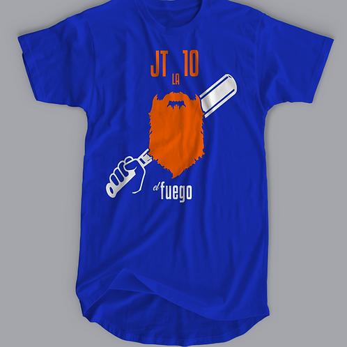 "Los Angeles Baseball T-Shirt JT ""el fuego"" Justin Turner"