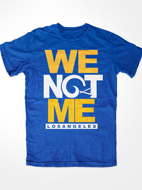 Los Angeles Football T-Shirt WE NOT ME