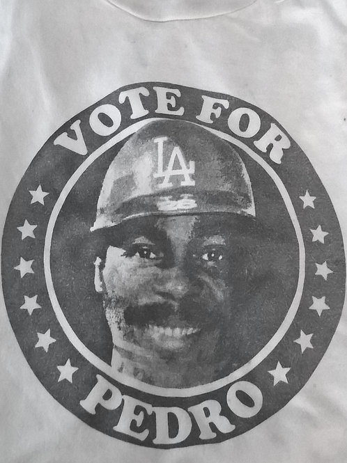 Los Angeles Baseball T-shirt -Pedro Guerrero