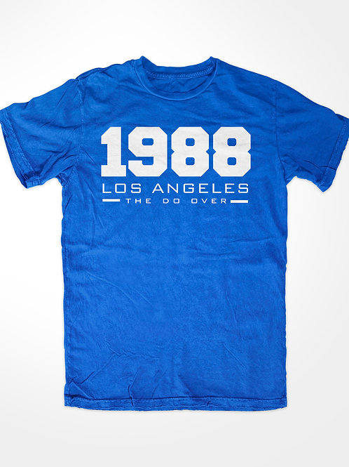 """DODGERS T-SHIRT - 1988 """"THE DO OVER"""""""