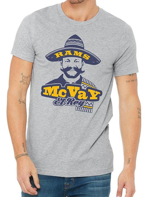 Sean McVay El Rey Los Angeles Football T-Shirt