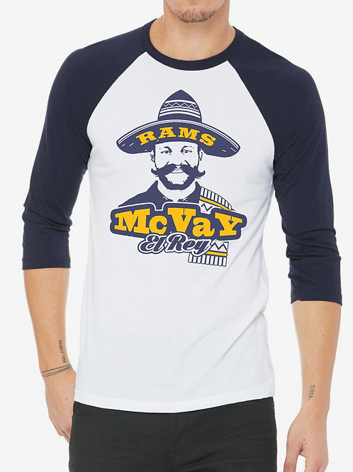 RAMS MCVAY EL REY RAGLAN T-SHIRT