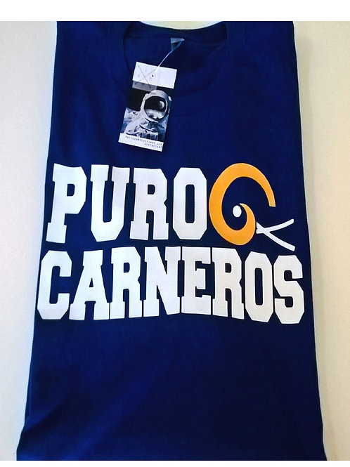 PURO CARNEROS - ROYAL BLUE RAMS T-SHIRT