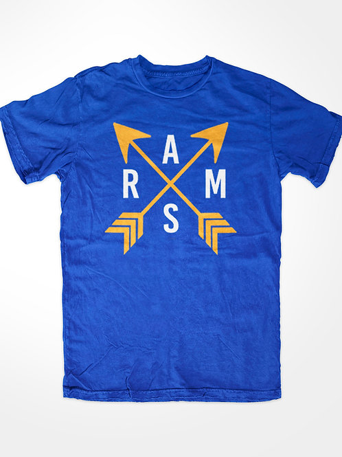 RAMS T-SHIRT - ARROWS