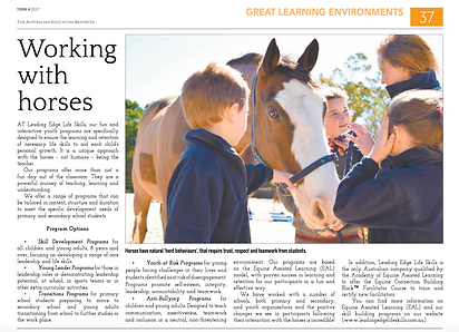 Newspaper | working with horses