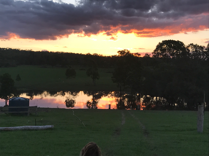 Sunset at Lowmead