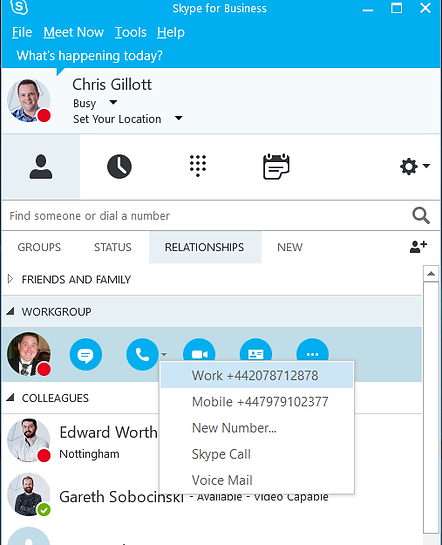 skype for business cloud telephony