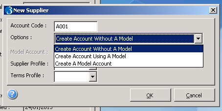 Creating Suppliers: To Model or not to Model
