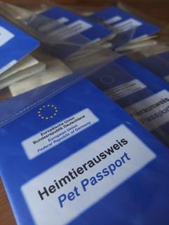 EU-Heimtierausweise