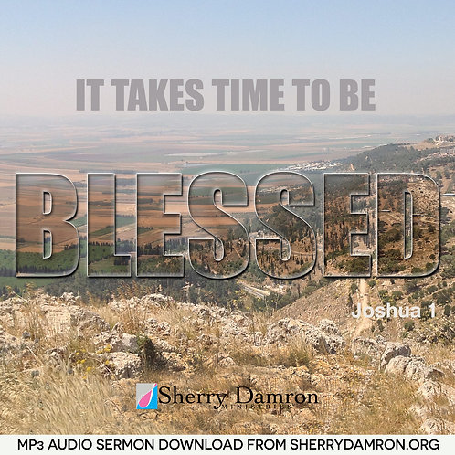 It Takes Time To Be Blessed (MP3 SERMON DOWNLOAD)