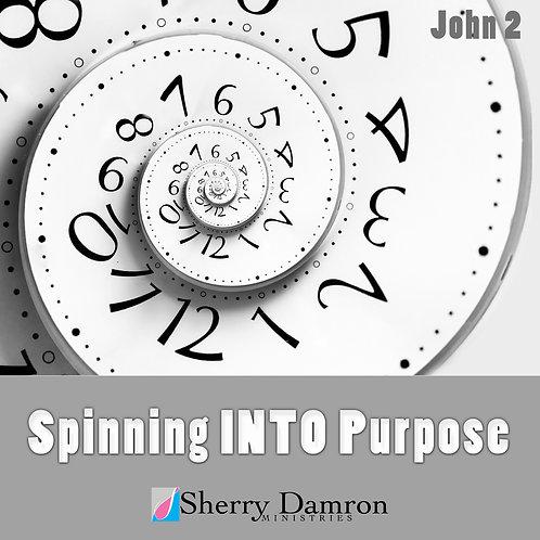 Spinning INTO Purpose (CD)