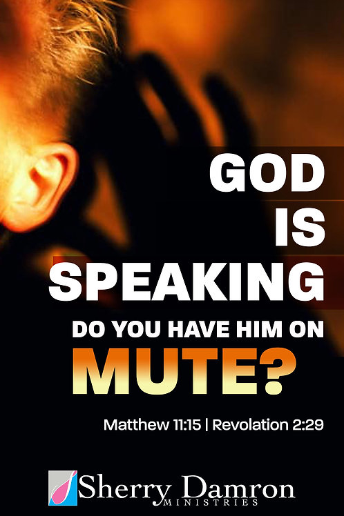 """God Is Speaking. Do You Have Him On Mute?"" (DVD)"