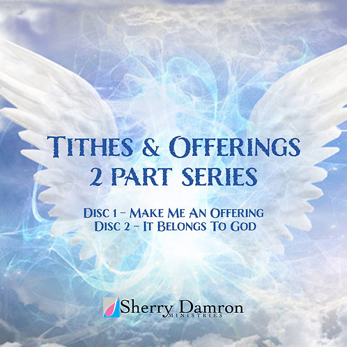 Tithes & Offerings 2 part series (2 Disc CD)