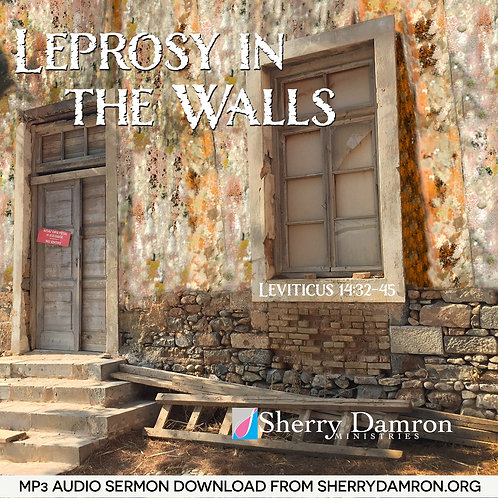 Leprosy In The Walls (MP3 SERMON DOWNLOAD)