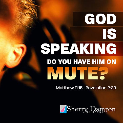 """""""God Is Speaking. Do You Have Him On Mute"""" (CD)"""