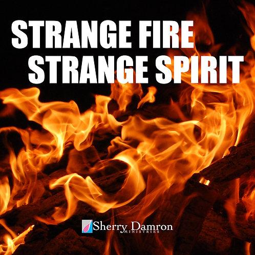 Strange Fire/Strange Spirit (TWO-PART SERMON AUDIO SERMON CD)