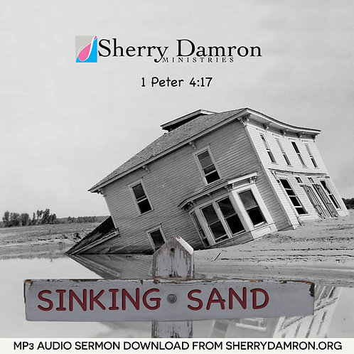 Sinking Sand (MP3 SERMON DOWNLOAD)
