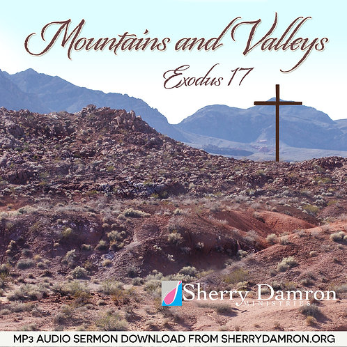 """""""Mountains and Valleys"""" (MP3 SERMON DOWNLOAD)"""