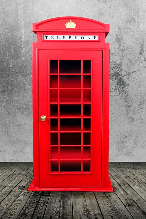 Шкаф английская телефонная будка №1