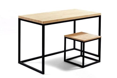 Стол и табурет в стиле лофт