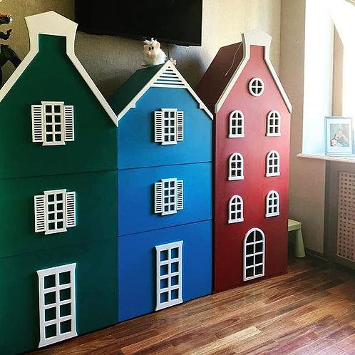 Шкафы домики для детской