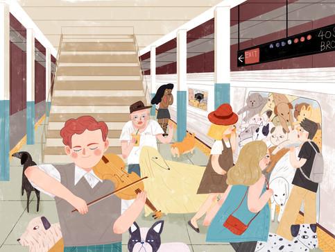 Carnival in MTA