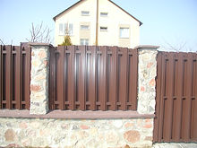 металличекий забор