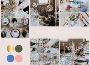 Bringing your ideas to life with mood boards!