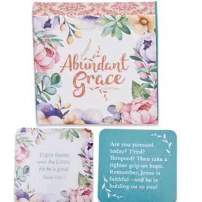 Abundant Grace Scripture Cards