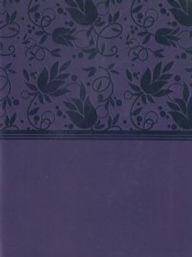 NKJV LargePrint Bible, purple