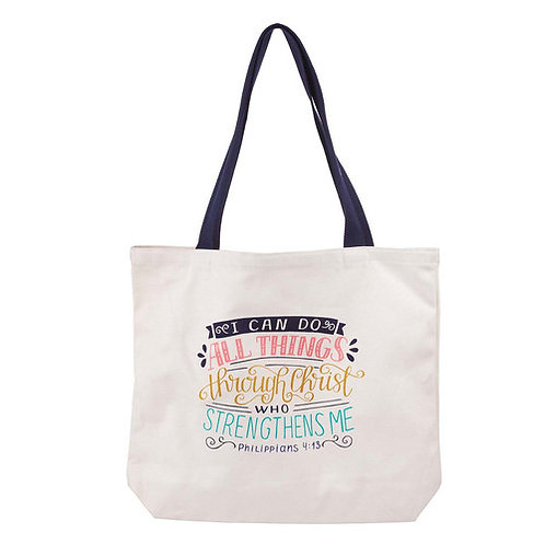 I Can Do All Things Tote