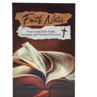Faith Notes Journal