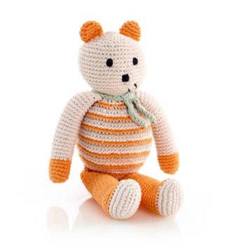 Soft Organic Orange Bear
