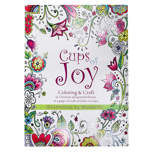 Cups of Joy Coloring Book
