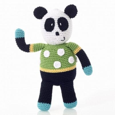Spotty Panda Rattle