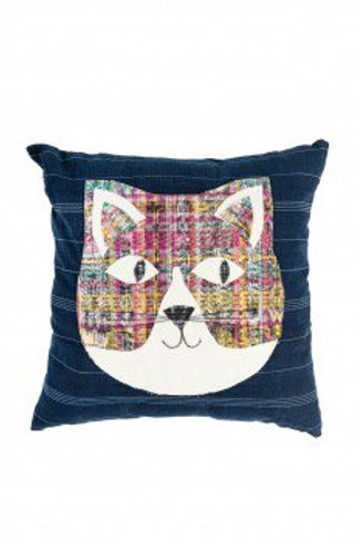 Heads or Tails Cat Pillow
