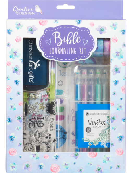 Bible Journaling Kit in Purple