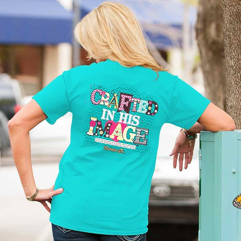 Cherished Girl® - Crafted Cherished Girl Adult T-Shirt ™